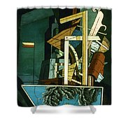 Chirico: Melancolie Shower Curtain