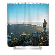 Chirripo National Park Shower Curtain
