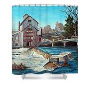 Chishom's Mill Shower Curtain