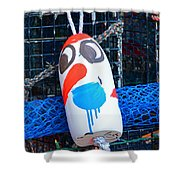 Chistmas Buoy Decoration 657 Shower Curtain