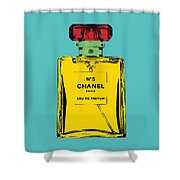 Chnel 2 Shower Curtain
