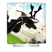 Chobits Shower Curtain