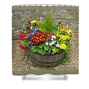 Chock Full Of Color Shower Curtain