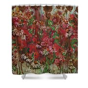 Chocolate Dreams Shower Curtain