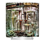 Chocolate Fountain In Bellagio Shower Curtain