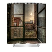 Chocolate Sunset Shower Curtain