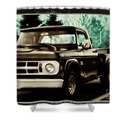 Chocolate Travels Shower Curtain