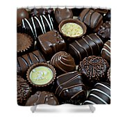 Chocolates Shower Curtain