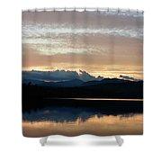 Chocorua At Sunset 2 Shower Curtain