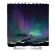 Chocorua Aurora Shower Curtain