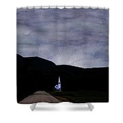 Chocorua Chapel Mindscape Shower Curtain