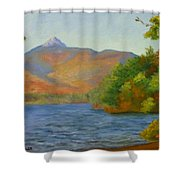 Chocorua Shower Curtain by Sharon E Allen