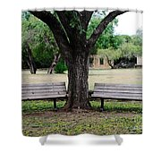 Choose Your Bench Shower Curtain