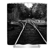 Choosing Your Path Shower Curtain