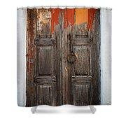 Chora Door Shower Curtain