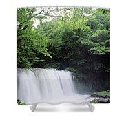 Chosi Otaki Falls Shower Curtain