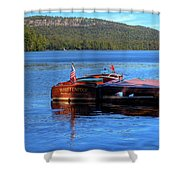 1958 Chris Craft Continental Shower Curtain