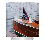 Chris Craft Runabout Shower Curtain