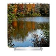 Chris Greene Lake - Reflections Shower Curtain