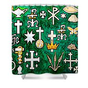 Chrismons Shower Curtain