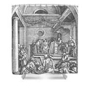 Christ Among The Doctors In The Temple 1503 Shower Curtain