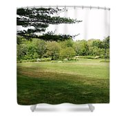 Christ And Nature  Shower Curtain