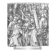 Christ Bearing The Cross 1509 Shower Curtain
