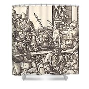 Christ Bearing The Cross Shower Curtain