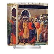 Christ Before Caiaphas 1311 Shower Curtain