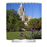 Christ Church Cathedral Oxford University Uk Shower Curtain