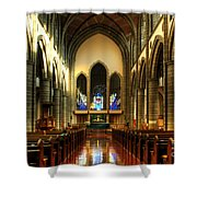 Christ Church Cathedral Victoria Canada Shower Curtain