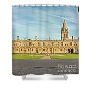Christ Church College Oxford Shower Curtain