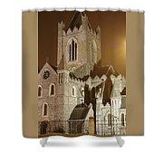 Christ Church Dublin Ireland Shower Curtain