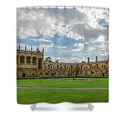 Christ Church Tom Quad Shower Curtain
