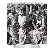 Christ Crowned With Thorns 1512 Shower Curtain