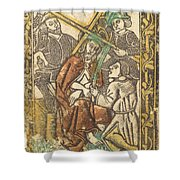Christ Crowned With Thorns Shower Curtain