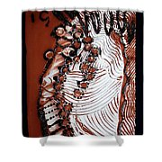 Christ Crucified Shower Curtain