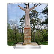 Christ Of The Ohio Shower Curtain