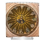 Christ Pantokrator Shower Curtain