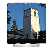 Christ The King Chapel Tower Shower Curtain