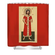 Christ The King The Bridegroom 066 Shower Curtain