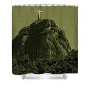 Christ The Redeemer Shower Curtain