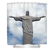 Christ The Redeemer Shower Curtain by Paul Landowski