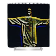 Christ The Redeemer - Rio Shower Curtain