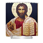 Christ The Teacher Shower Curtain