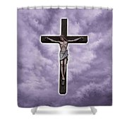 Christ Variations # 2 Shower Curtain