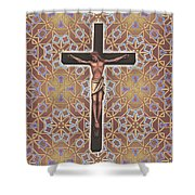Christ Variations #1 Shower Curtain