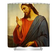 Christ Weeping Over Jerusalem Shower Curtain