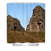 Christchurch Castle Shower Curtain