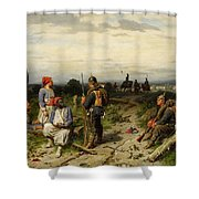 Christian Sell Shower Curtain